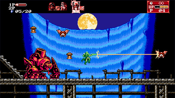 Bloodstained Curse of the Moon 2-3DM
