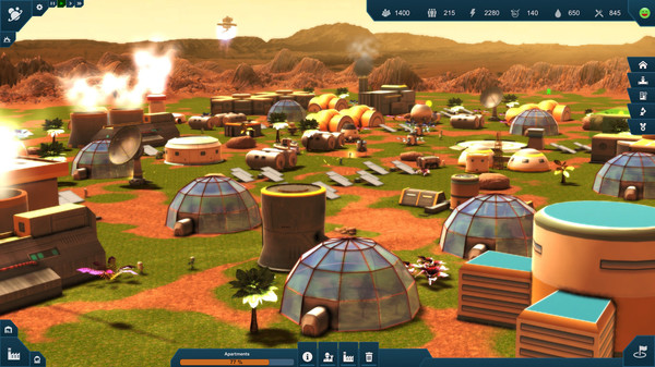 Earth Space Colonies-PLAZA